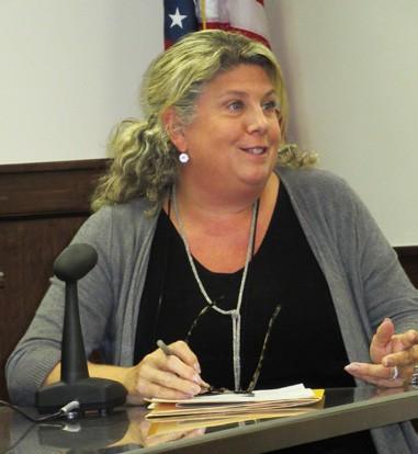 Tracey Walsh appeared before the Legislature's Economic Development Committee last week. Photo/Eric Gross